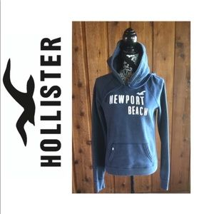 Hollister Embroidered Logo Hoodie